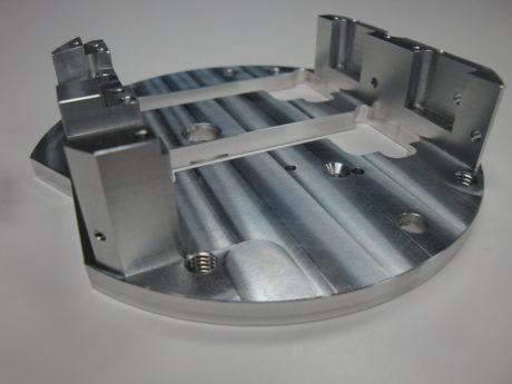 Aluminium frezen deksel