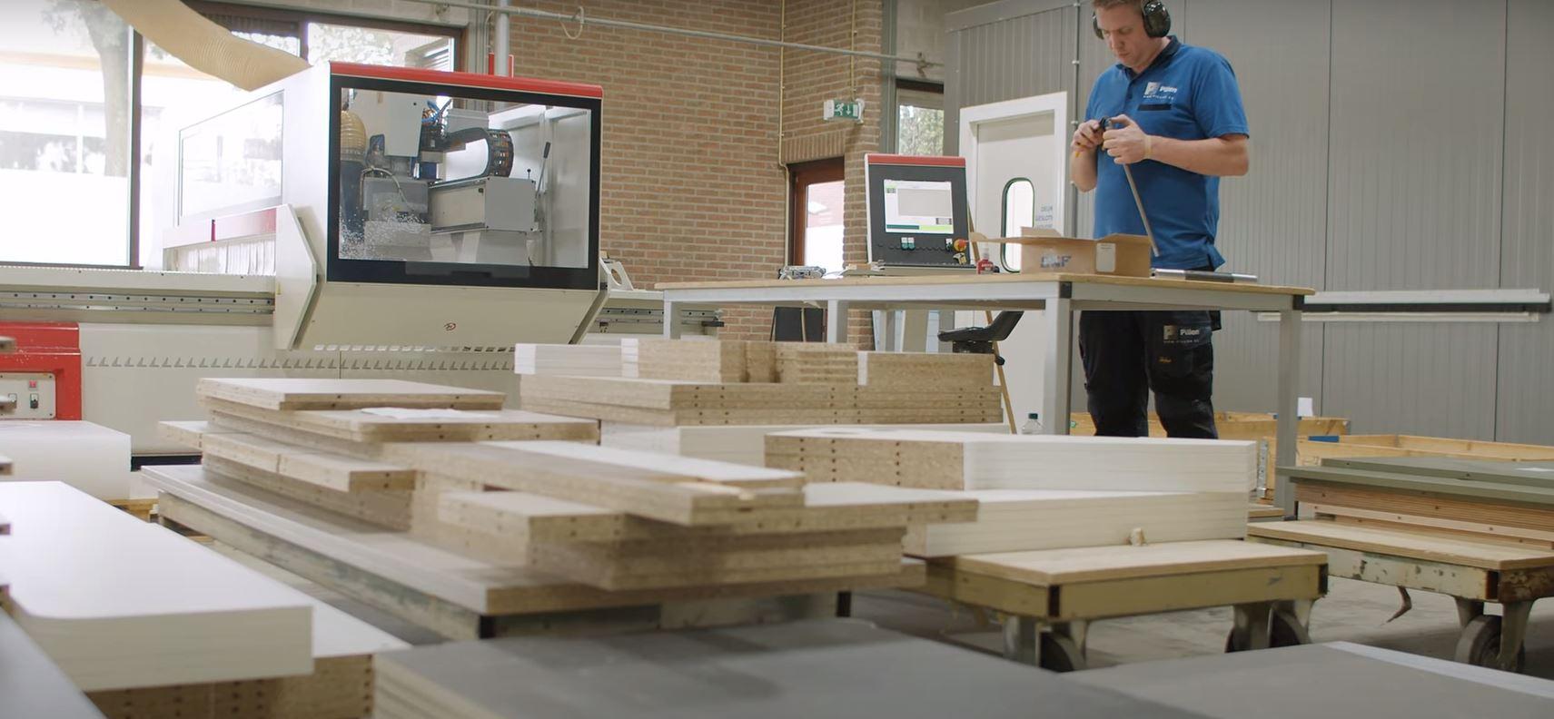 CNC Materiaalonafhankelijke Bewerkingsmachine Pillen Group