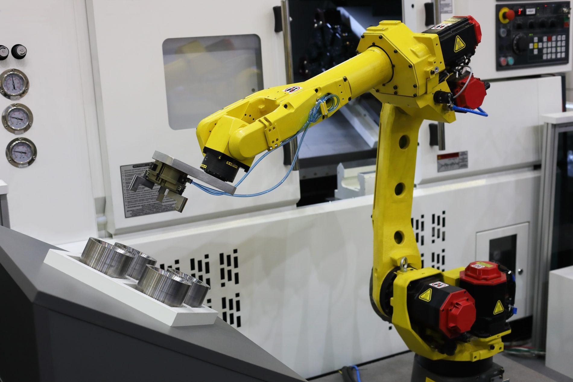 Machinebouw Apparatenbouw Robot Copot Toelevering Onderdelen