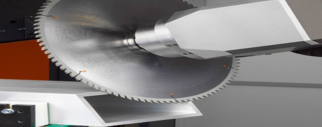 Sawing of extrusion profile
