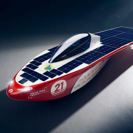 Horizon Solar Car T Wente Pillen Group Sponsor